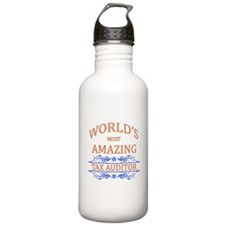 Tax Auditor Water Bottle