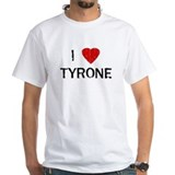 I Heart TYRONE (Vintage) White T-shirt