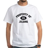 Property of Julianna White T-shirt