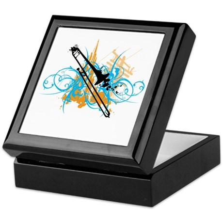Urban Trombone Keepsake Box