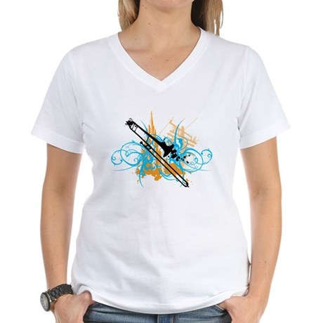 Urban Trombone Women's V-Neck T-Shirt