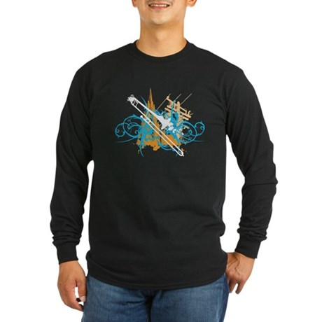 Urban Trombone Long Sleeve Dark T-Shirt