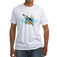 Urban Trombone Fitted T-Shirt