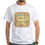 White T-shirt: Baked Alaska Day