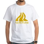 Scanner Darkly Newpath White T-shirt