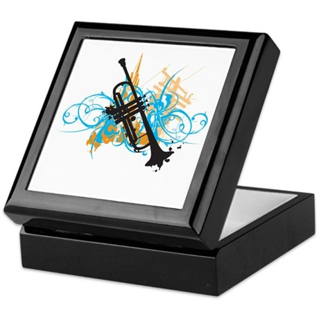 Urban Trumpet Keepsake Box