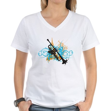 Urban Trumpet Women's V-Neck T-Shirt
