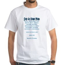 Stay At Home Mom (JD) White T-shirt