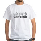 Vet Tech White T-shirt