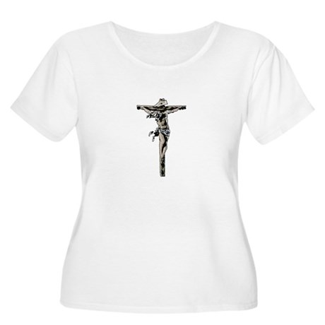 Calvary Women's Plus Size Scoop Neck T-Shirt
