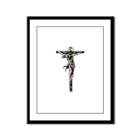 Calvary Framed Panel Print