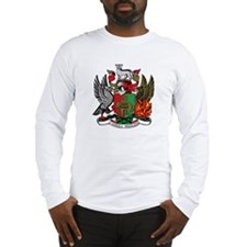 Coventry City Coat of Arms Long Sleeve T-Shirt