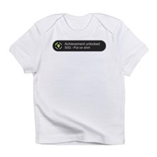 Put on shirt - Achievement unlocked Infant T-Shirt