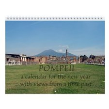 Pompeii Wall Calendar