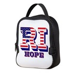 Rhode Island RI Hope Neoprene Lunch Bag