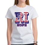 Rhode Island RI Hope Women's T-Shirt