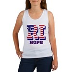 Rhode Island RI Hope Women's Tank Top