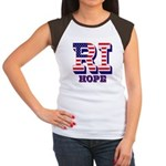 Rhode Island RI Hope Women's Cap Sleeve T-Shirt
