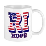 Rhode Island RI Hope Mug