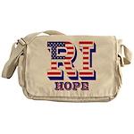 Rhode Island RI Hope Messenger Bag