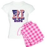 Rhode Island RI Hope Women's Light Pajamas