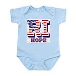 Rhode Island RI Hope Infant Bodysuit