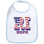 Rhode Island RI Hope Bib