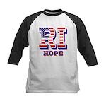 Rhode Island RI Hope Kids Baseball Jersey