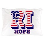 Rhode Island RI Hope Pillow Case