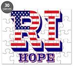 Rhode Island RI Hope Puzzle