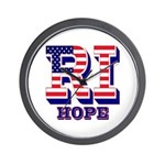 Rhode Island RI Hope Wall Clock