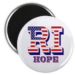 Rhode Island RI Hope Magnet