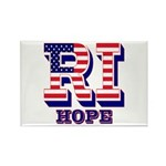 Rhode Island RI Hope Rectangle Magnet