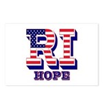 Rhode Island RI Hope Postcards (Package of 8)