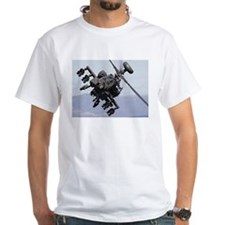 Apache Attack! White T-shirt
