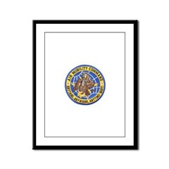 Air Mobility Command Framed Panel Print