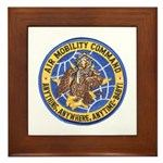 Air Mobility Command Framed Tile