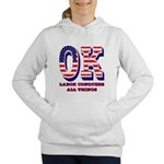 Oklahoma OK Labor Conque Women's Hooded Sweatshirt