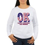 Oklahoma OK Labor Conq Women's Long Sleeve T-Shirt