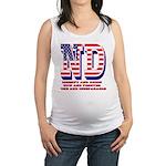 North Dakota ND Liberty And Uni Maternity Tank Top