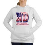 North Dakota ND Liberty Women's Hooded Sweatshirt