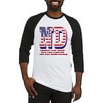 North Dakota ND Liberty And Union Baseball Jersey