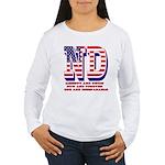North Dakota ND Libert Women's Long Sleeve T-Shirt