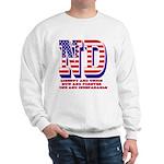North Dakota ND Liberty And Union Now A Sweatshirt