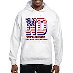 North Dakota ND Liberty And Unio Hooded Sweatshirt