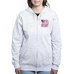 North Dakota ND Liberty And Uni Women's Zip Hoodie
