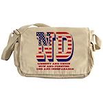 North Dakota ND Liberty And Union No Messenger Bag
