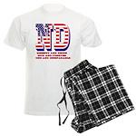 North Dakota ND Liberty And U Men's Light Pajamas