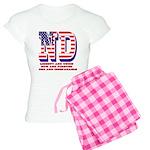 North Dakota ND Liberty And Women's Light Pajamas