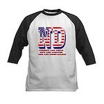 North Dakota ND Liberty And U Kids Baseball Jersey